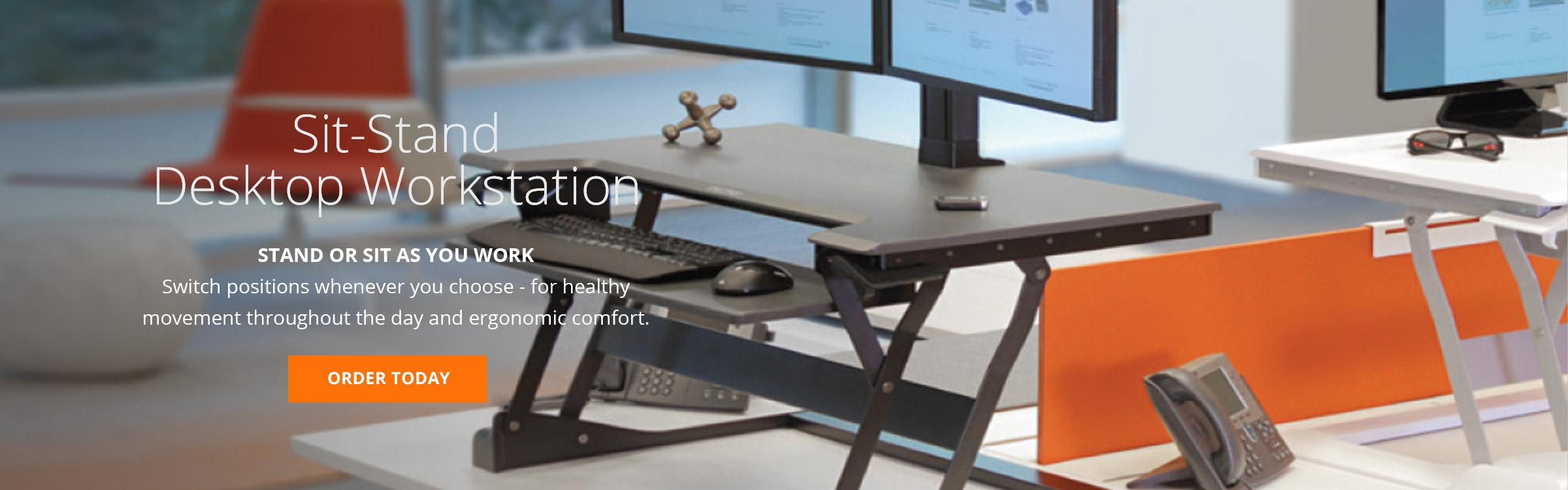 Sit-Stand Desktop Workstations